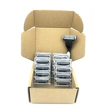 1pcs holder 16pcs Blade Safety Men 3Layer Shaver Razor Blades Shaving Cassettes Facial Care Men Shaving Blades Replacement Blade