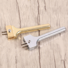 Горячая магнитная пряжка установка инструмент Кожа DIY ремесло Регулируемая прочная вилка удар NDS