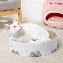 Gato coçar placa ondulado scratcher almofada gatinho scratch brinquedo gato sofá cama lounge moagem unhas proteger móveis