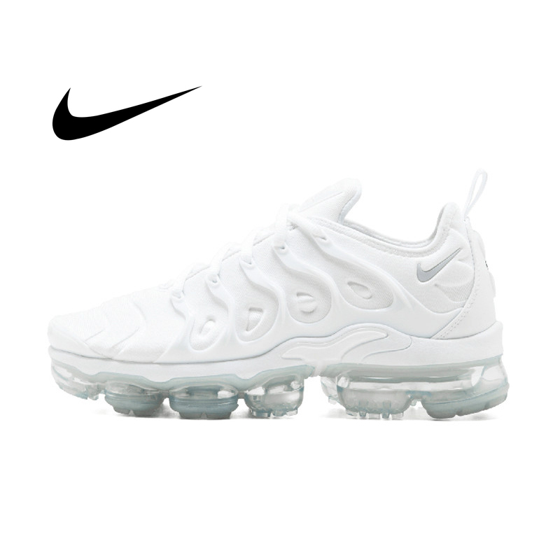 Nike Air Vapormax Plus TM Men's Breathable Running Shoes Sport Outdoor Sneakers Athletic Designer Footwear 2018 New 924453-100