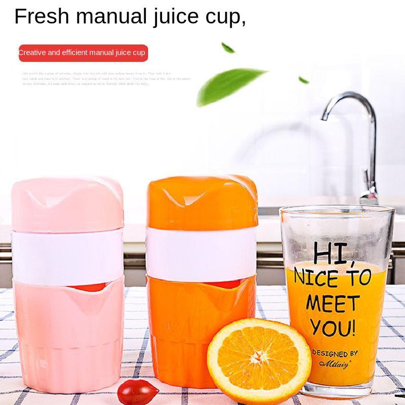 Portable manuel presse-agrumes tasse pour agrumes Orange citron fruits presse-agrumes 100% Original jus enfant sain presse-agrumes Machine