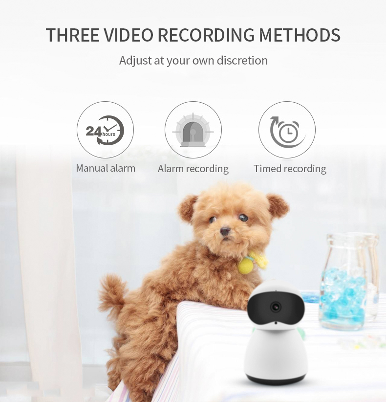 H34481674c76745f1a5e80ebaae7749ces Cute Y10 PTZ Wireless IP Camera 720/1080P Infrared Night Vision Voice Call Home Security Surveillance WiFi Camera Support 128G