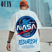 Oein impressão oversized men t shirt 2021 hip-hop algodão camiseta o pescoço verão streetwear masculino causal tshirts 8xl moda solta camisetas