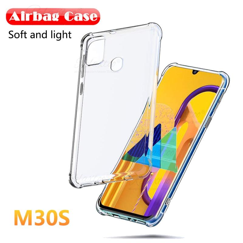Прозрачный ТПУ задняя подушка безопасности чехол для телефона для samsung galaxy m30s прозрачный мягкий силиконовый чехол на sumsung galax m30 m 30 s 30 s