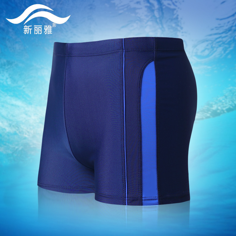 MEN'S Swimsuit Beach Boxers Quick-Dry Seaside Surfing Large Size Swimming Trunks Sports Hot Springs Tour Bathing Suit Swimming E