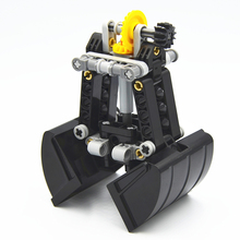 Building Blocks MOC Technic Parts 42006 MOD Technic Clamshell Bucket Grab compatible with lego for Boys Toy