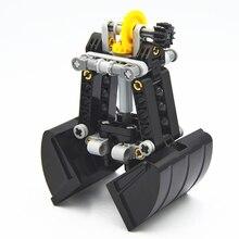 אבני בניין MOC טכני חלקי 42006 MOD טכני צדפה דלי לתפוס תואם עם לגו עבור בני צעצוע
