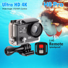 EKEN H8 /H8R / H8PRO /H8 PLUS Action Camera Ultra HD 4K Waterproof Video Recording Cameras Sport Cam(China)