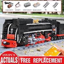 Toys Railway-Train Mould King Building-Blocks City-High-Tech Class-Steam Christmas-Gift