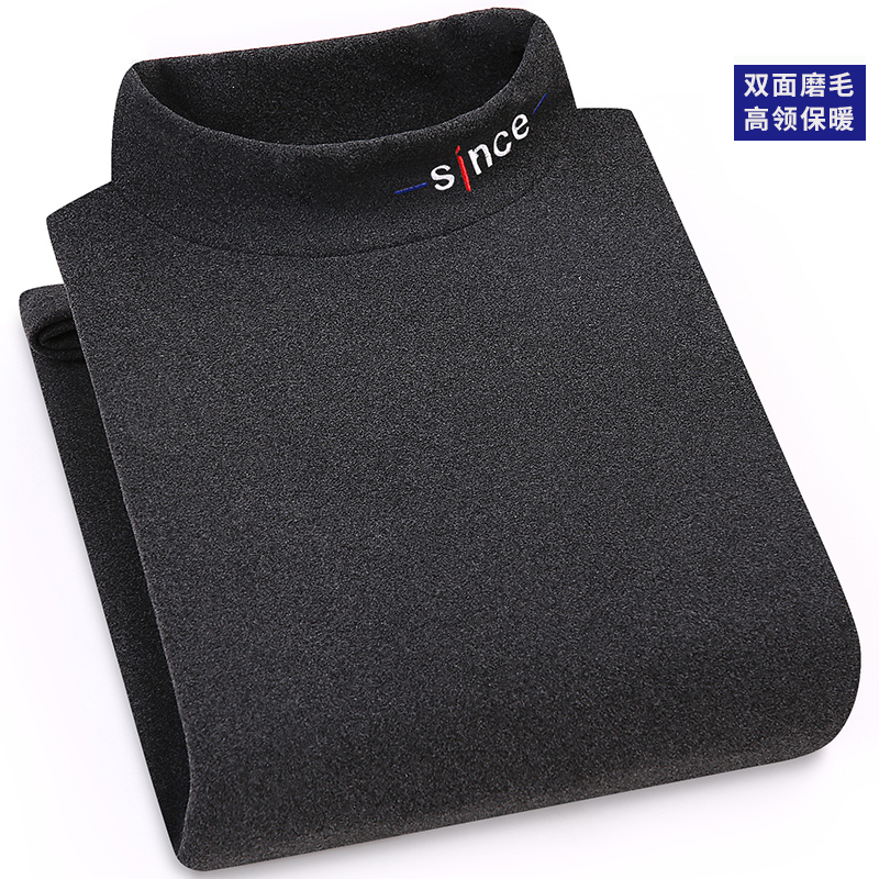 Hombres Cálido Y Cómodo Jersey De Cuello Alto Mangas Largas Suéteres De Punto De Jersey Suave Flexible Slim Fit Jersey Casual De