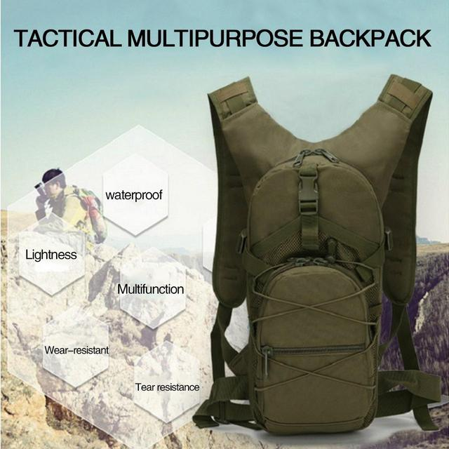 Durable Hunting Military Accessorie Backpack Military Backpack Cycling Bag Field Survival Outdoors 15L 5