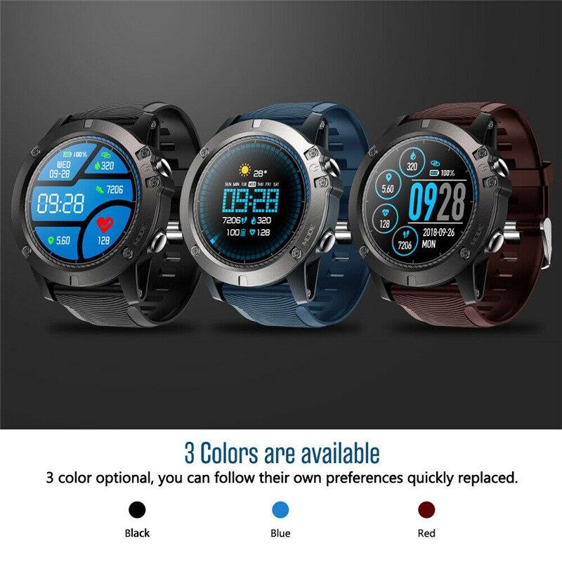 "Moda quente zeblaze vibe 3 pro relógio inteligente 1.2 ""ips monitor de freqüência cardíaca pulseira de fitness presente"