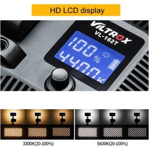 Image 4 - Viltrox VL 162T Camera LED Video Light LCD Panel 3300K 5600K Bi Color Dimmable for Canon Nikon Sony DSLR photography Camcorder