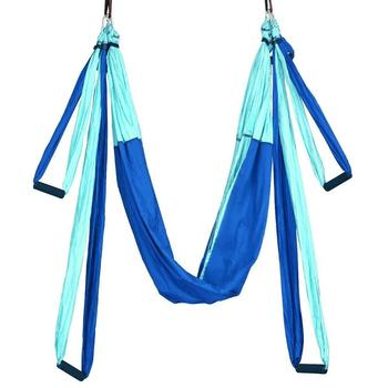 Durable Flying Swing Anti Gravity Equipments Bandage Hang Buckle Sports Yoga Hammock Deluxe Sling Trapeze Exercise Practical