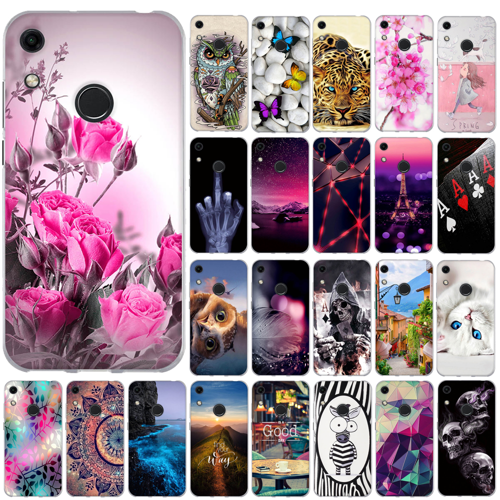 Phone Case For Huawei Honor 8a Case Silicon Back Cover For Huawei Y6 2019 Case Coque Capa Funda For Huawei Honor 8A JAT-LX1 Case