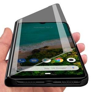 Зеркальный чехол с откидной крышкой, глобальная версия xiaomi mi a3 a 3 mia3 xiomi xaomi xiami mia 3 mi 3a xiaomia3, аксессуары для телефонов 6,088 дюйма