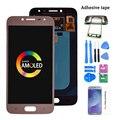Оригинальный J250 Amoled LCD для Samsung Galaxy J2 pro 2018 J250 J250F ЖК-дисплей кодирующий преобразователь сенсорного экрана в сборе