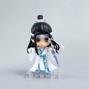 Image 2 - Anime Mo Dao Zu Shi arcymistrz demonicznej uprawy Lan Wangji 1109 pcv figurka Model kolekcjonerski Toy Doll prezent