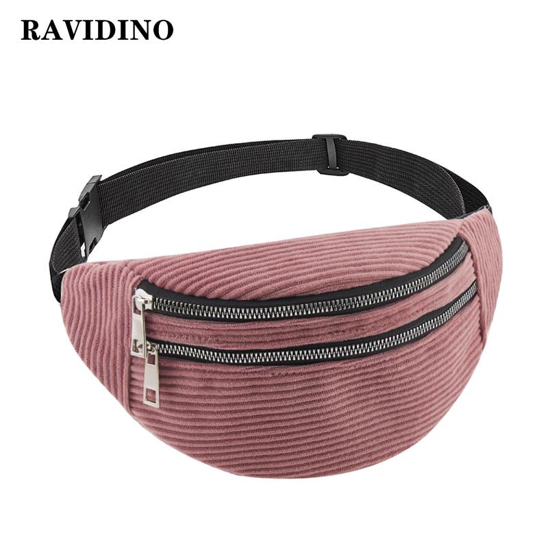 Belt Bag Waist Packs For Women Designer Brand Luxury Bag High Quality Corduroy Bag Women Bag Fanny Pack Message Bag Crossbody