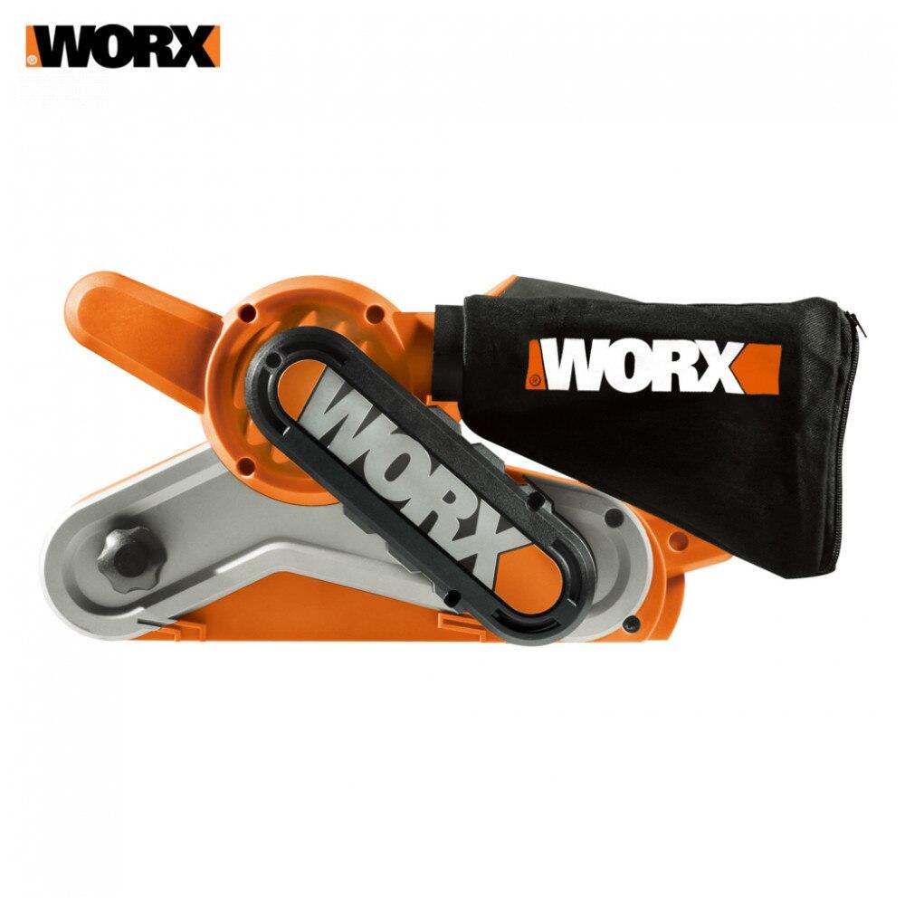 Grinder Worx WX661.1 Gereedschap Power Slijpmachines Tool Schuren Machine Machines Elektrische Slijpen Polijsten Lint