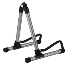 SK20 Alloy Guitar Stand Universal Folding For Acoustic Electric Guitars Guitar Floor Stand Holder Excellent