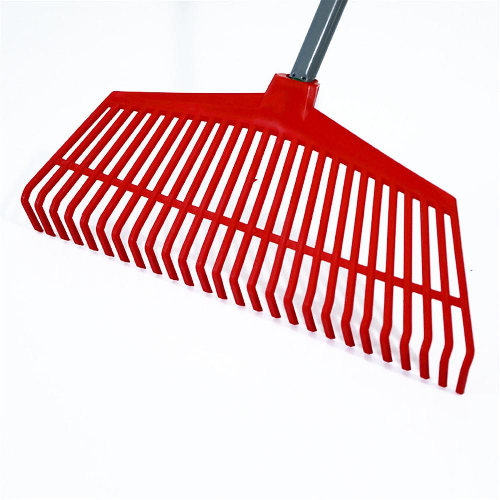 26 Teeth Gardening Plastic Grass Rake Odorless And Non-toxic Garden Tool For Lawn Garden Cleaning Care