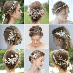Promotion Sale Hair Accessories Bridal Headpiece Wedding Headband Jewelry Hair Vine Comb Clip For Girls Women