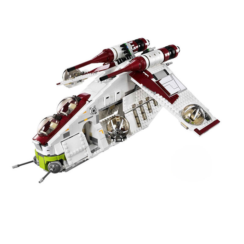<font><b>05041</b></font> <font><b>star</b></font> Coruscant Police Gunship model <font><b>war</b></font> Building Blocks Bricks kids toys Christmas gifts image