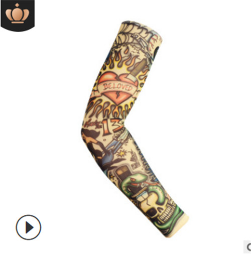Tattoo Sleeve Arm Warmers ZX03