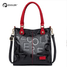 купить ZOOLER Unique design real leather bags for men Famous brand cross body bag High quality Business Casual men briefcase 90026 по цене 5137.55 рублей