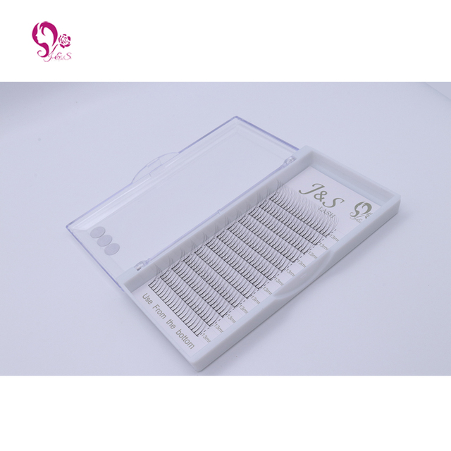 10trays volume W 3D Eyelash Extension 0.10 Individual Eye Lashes Professional Makeup Tools Thick Long Lash From Korea 4
