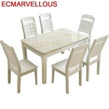 Tisch Comedor Kitchen Salle Manger Moderne A Langer Eettafel Pliante Set Marmol Wooden Tablo De Jantar Bureau Mesa Dining Table