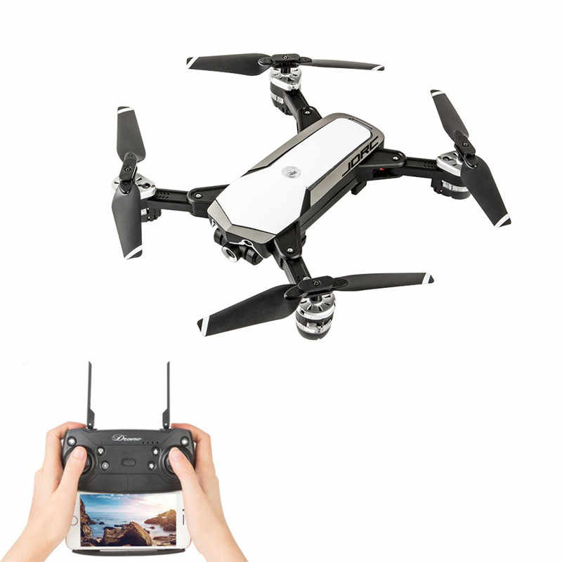 JDRC JD-20S JD20S PRO WiFi FPV Drone w/5MP HD 1080P Cámara 18 minutos FlightTime plegable RC Mini Drone Quadcopter helicóptero RTF