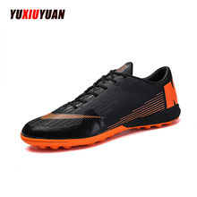 Soccer Boots Indoor Turf Futsal Sneakers TF & Short Spikes Men Shoes Soccer Cleats Original Football Sports Shoes for Women Men(China)