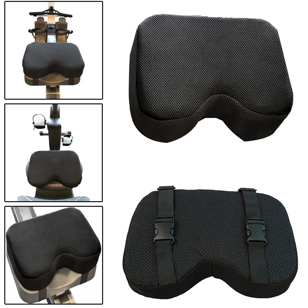 Resistance Rowing Machine Recumbent Bicycle Thicken Memory Foam Seat Cushion Fitness Equipment Accessories