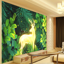 Multi-function Tapestry Elk Plant Green Leaves Psychedelic Tapestry Wall Hanging Cactus Tapestries Boho Home Decor Wall Cloth