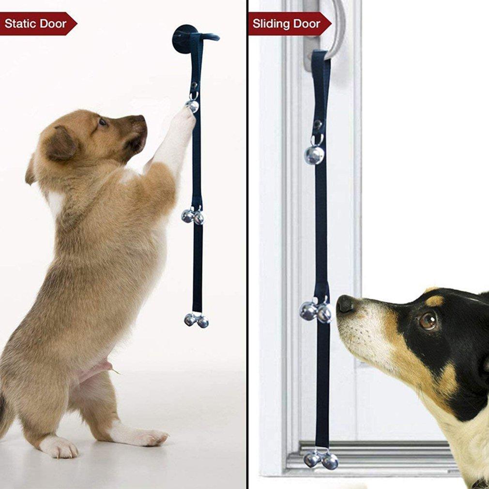 Pet Toy Pet Doorbell Rope Safe Pet Dog Training Door Bells Pet Supplies Christmas Gift Dog Doorbell Lanyard-3