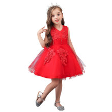 Baby Girls Infant Dress&clothes Summer Kids Party Birthday dress Floral Kids Girls Princess Pageant Gown Wedding Dress#G40(China)