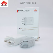 Original HUAWEI P20 mate9 Supercharge Super cargador de pared adaptador de carga rápida para P10/Pro/MATE 9 10 20 Pro Honor10 V10(China)