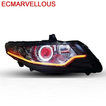 Automovil Cob Neblineros Para Auto Styling Drl Led Lamp Headlights Rear Car Lights Assembly 09 10 11 12 13 14 FOR Honda City