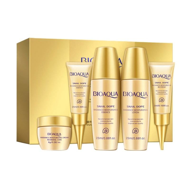 Moisturizing Face Skin Care Set Whitening Day Cream Facial Essence Lotion Acid Liquid Anti Wrinkle Eye Cream BB Cream W