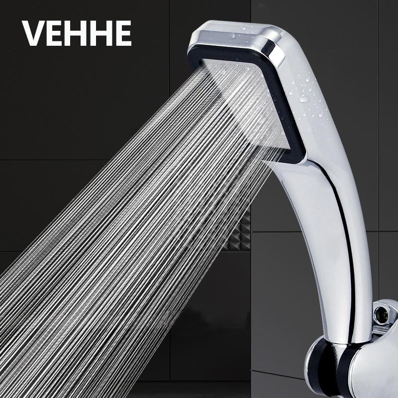 VEHHE 300 отверстий с функцией экономии воды под высоким давлением насадка для душа Фильтр ABS хром спрей мощная насадка панель аксессуары для ванной комнаты|Душевые насадки|   | АлиЭкспресс