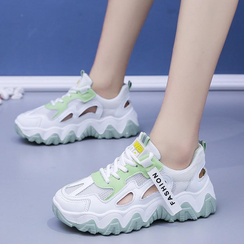 Fashion Women Vulcanize Shoes 2020 Summer New Women Sneakers Trend Breathable Original Women Shoes Casual Shoes Zapatos De Mujer