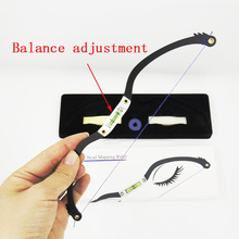 цена на Microblading ruler Mapping ruler Mapping Bow Mapping String 2nd Gen Level Calibration Eyebrow Ruler horizontal bead ruler