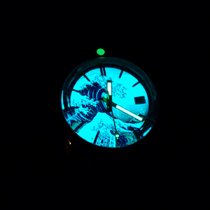Image 5 - San Martin 62Mas Diver Full Luminous Surfing Dial Tin Bronze NH35 Automatic Mechanical Men Watch Sapphire Glass Calendar 20 Bar