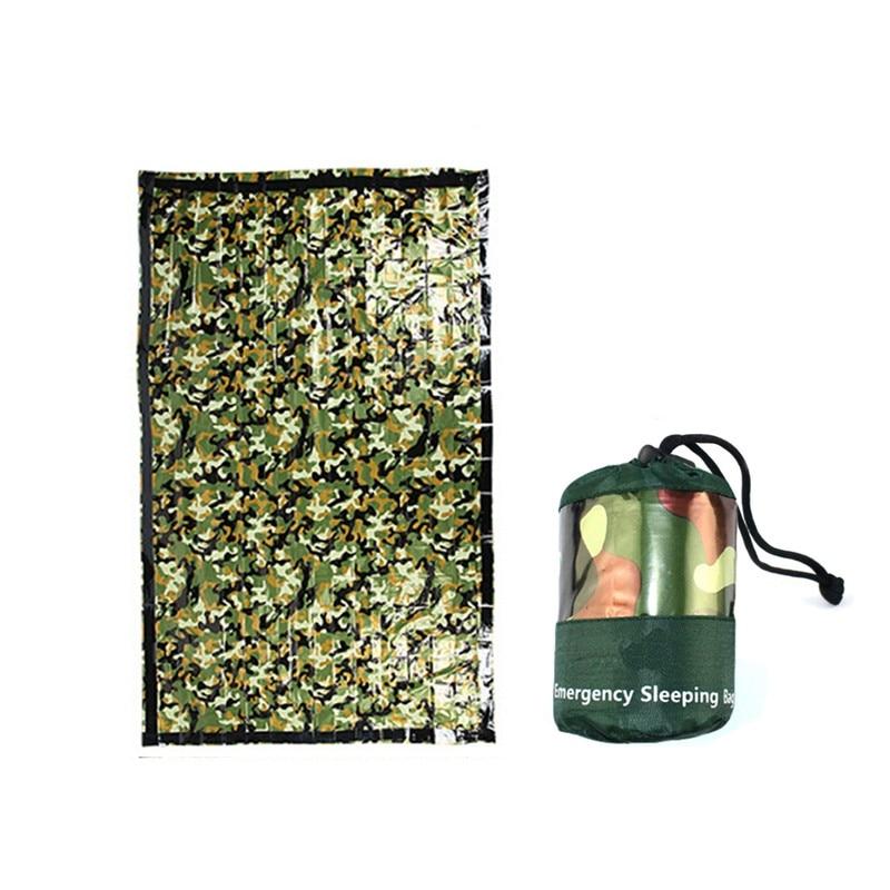 Outdoor Emergency Survival Sleeping Bag Reusable Blanket Camping Hiking Survival Rescue Thermal Blanket