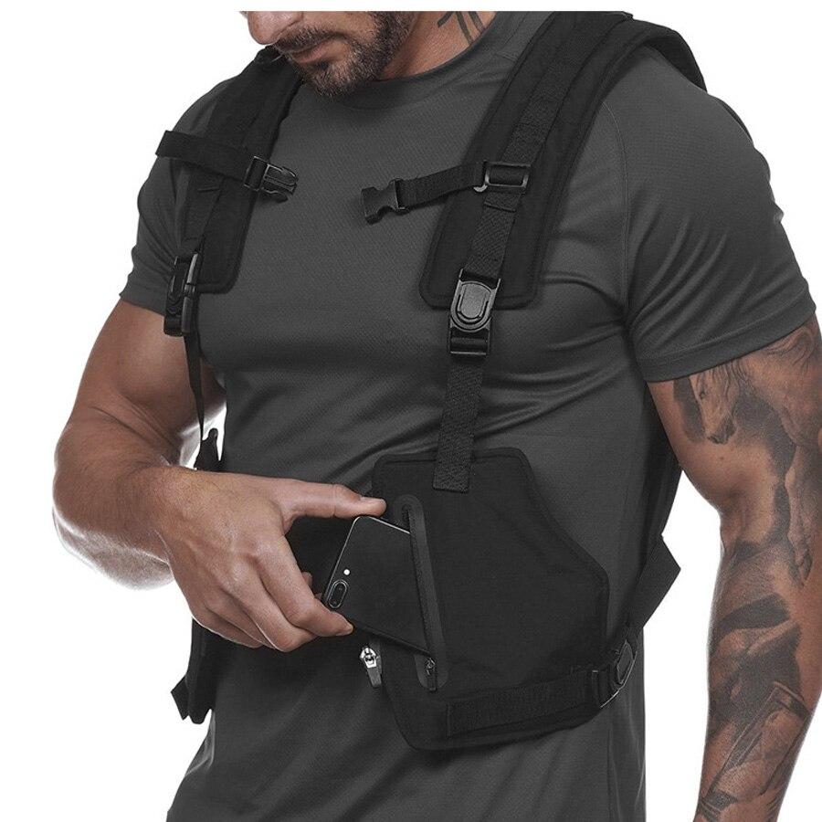רעיוני ריצה אפוד סגנון צבאי טקטי אפוד לילה עבודה מגן בגדי חזיית חיצוני אימון רכיבה על אופניים אפוד