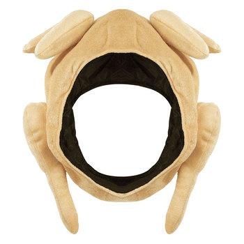 Palone kapelusze z indyka pluszowe święto dziękczynienia kapelusz z indyka na Halloween święto dziękczynienia kostiumy dekoracje świąteczne P7Ding tanie i dobre opinie CN (pochodzenie) Dla dorosłych Tkaniny Turkey Hat