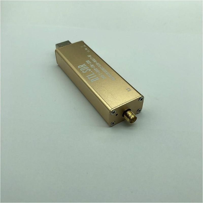 0.1MHz-1.7GHz RTL2832U+R820T2 TCXO ADSB UHF VHF HF FM RTL.SDR USB Tuner Receiver