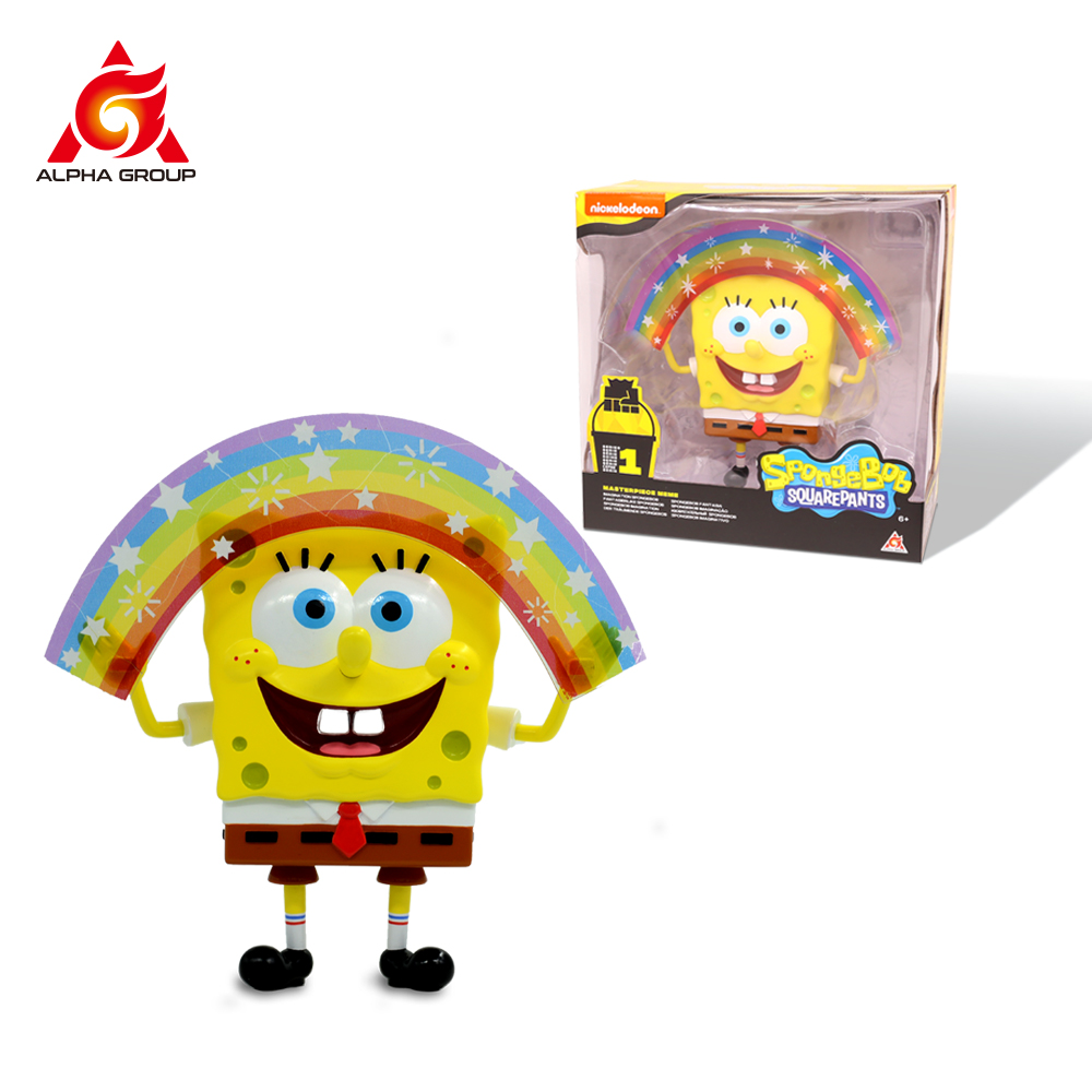 Spongebob Squarepants Masterpiece Memes figure Collection Christmas toys